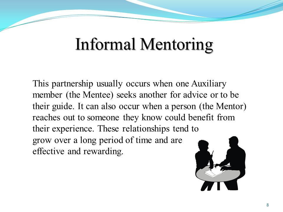 Mentoring Our Members A Human Resources Directorate