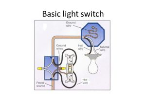 Wiring –Basic light switch  ppt video online download