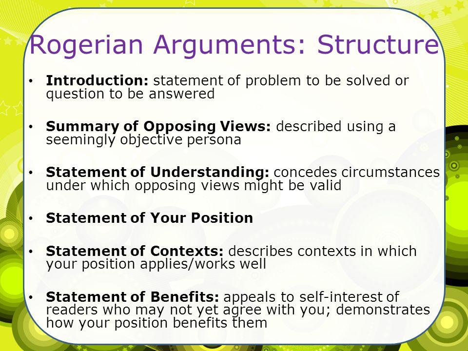 Introduction Rogerian Argument Essay Mistyhamel