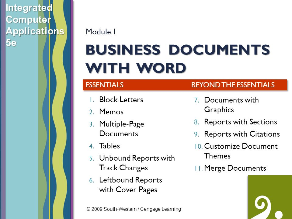 Business Documents With Word Ppt Video Online Download