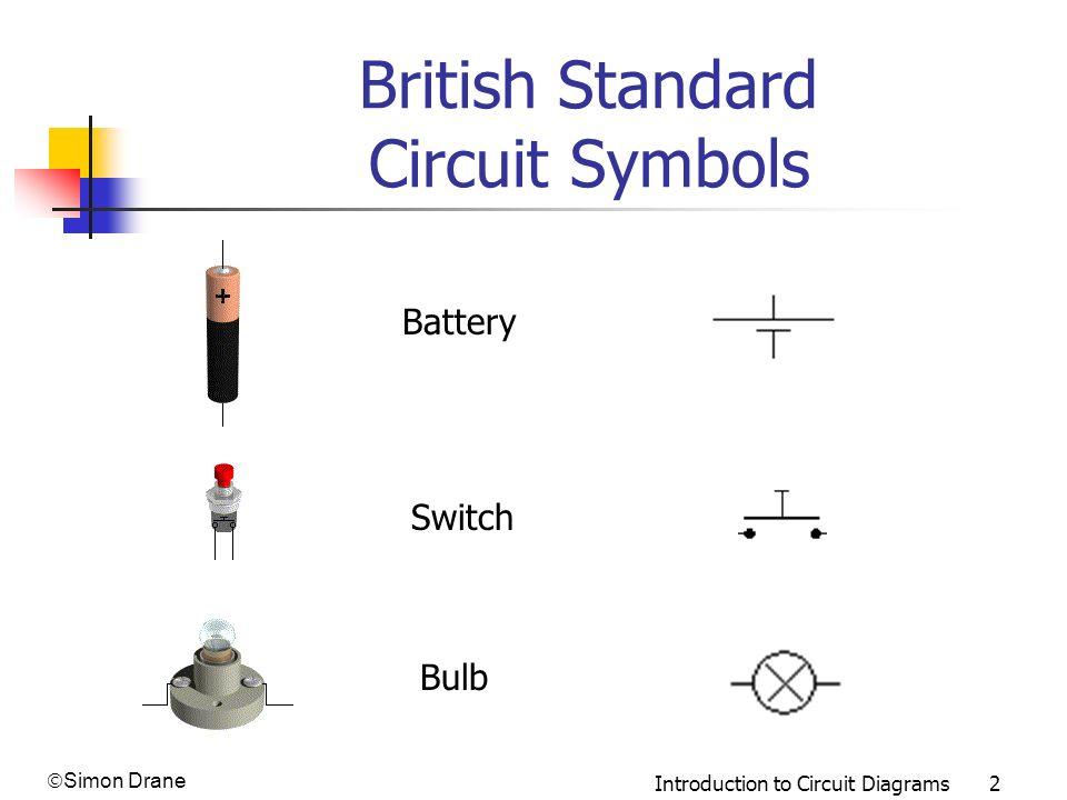 circuit diagram using standard circuit symbols