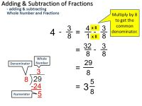 Subtracting Whole Number And Fraction - popflyboys
