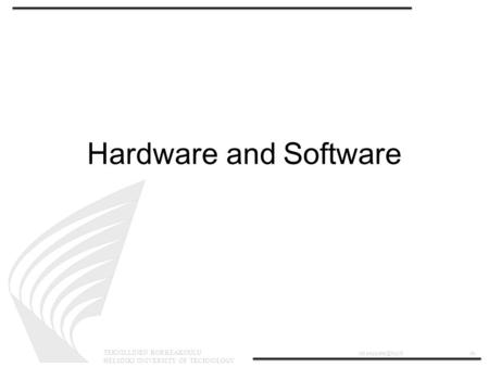 Embedded Systems: Introduction. Course overview: Syllabus