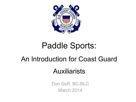OP PADDLESMART 2009 Recreational Boating Safety Pulse Op