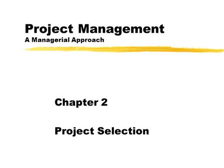 Project Management and Quality Control Fall ppt video