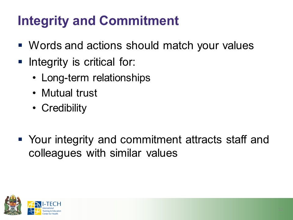 Service Integrety Commitment Quotes And