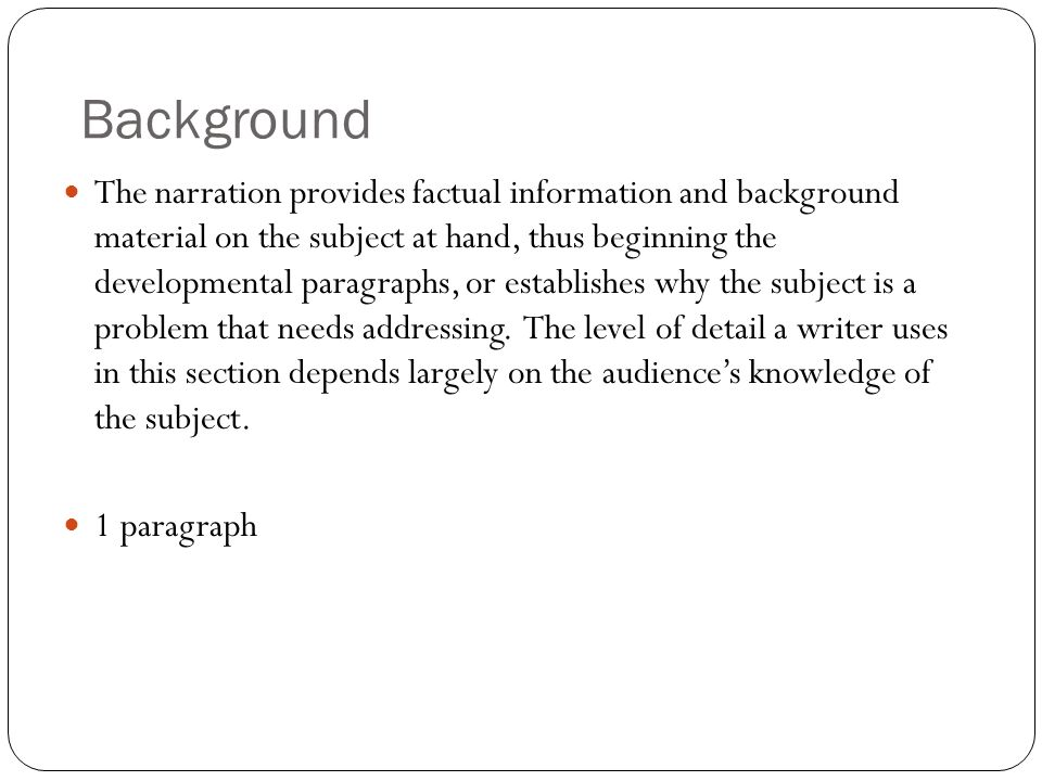 How To Write The Background For A Research Paper Custom Paper