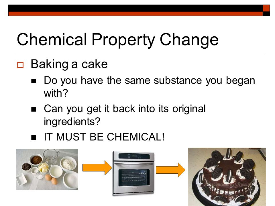 Changes They Physical What Used How And Are Substance Chemical Are And