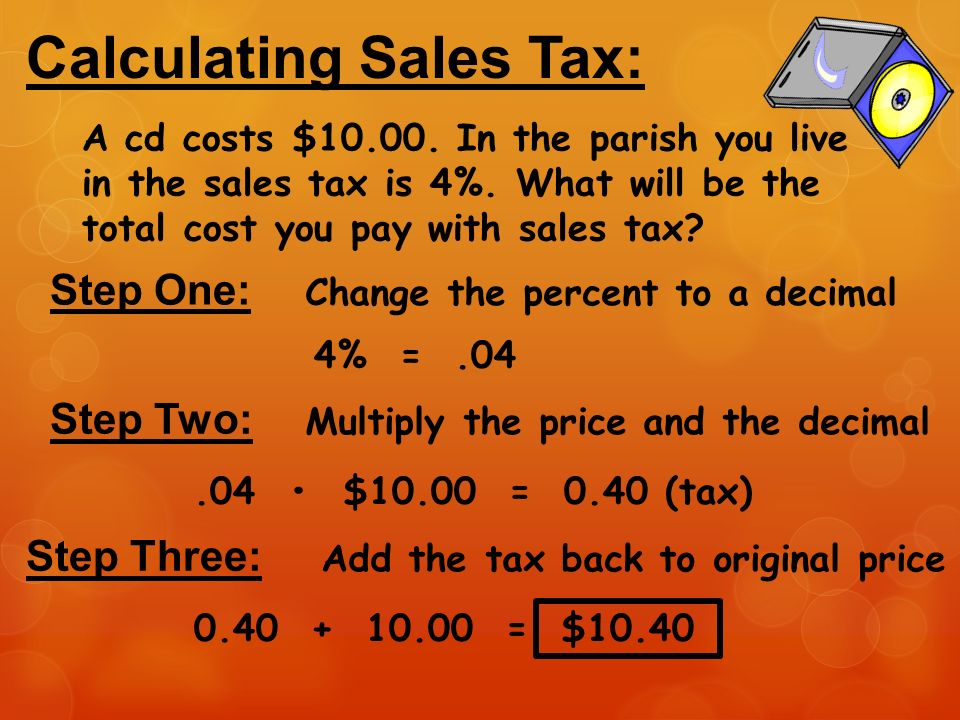 Calculating Tax, Tips, And Commission  Ppt Download