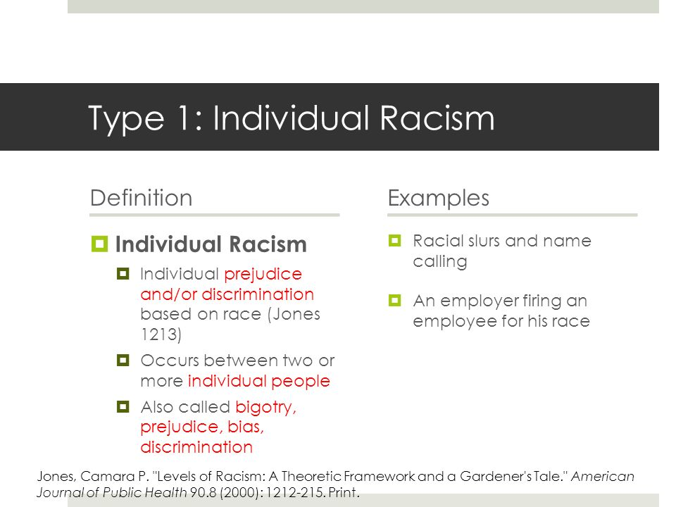 Lecture and Silent Discussion Definitions of Racism  ppt video online download