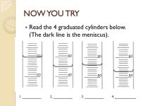 The gallery for --> Graduated Cylinder Practice