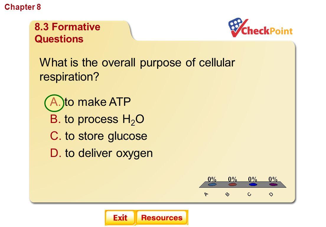 Ch 8 Cellular Energy Section 1 How Organisms Obtain Energy