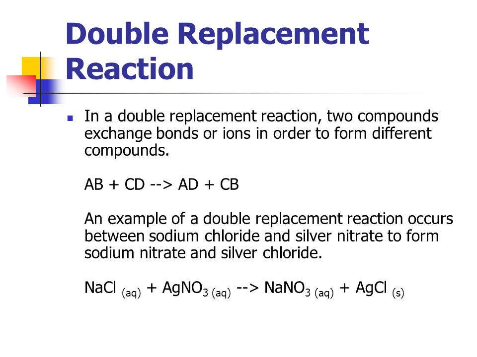 Types Of Chemical Reactions  Ppt Video Online Download