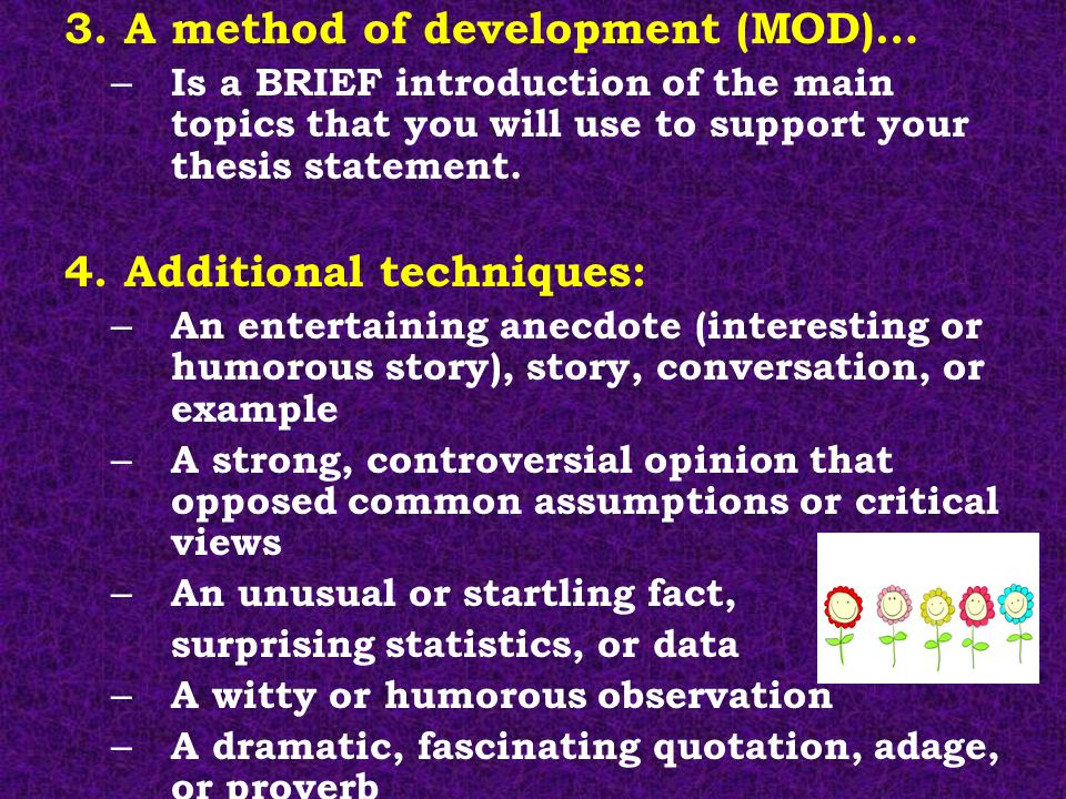 Research Papers Introduction Thesis Statement Conclusion Ppt Video