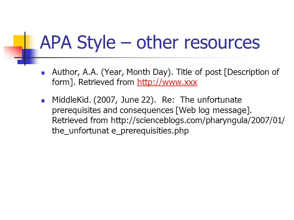 APA Style By Susan J Breakenridge Ppt Video Online Download
