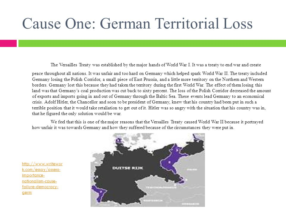 How did the Versailles Treaty Help Cause WWII  ppt download