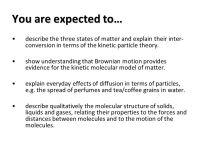 Kinetic Molecular Theory Worksheet High School. Kinetic ...