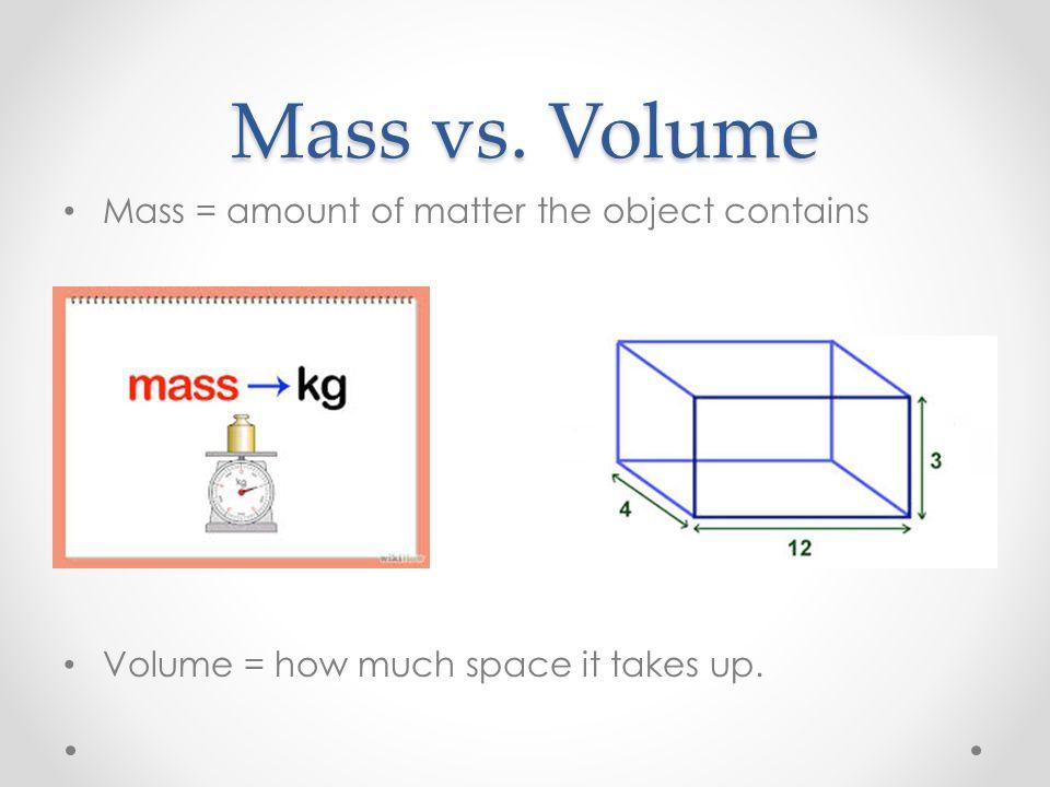 Mass And Weight Venn Diagram