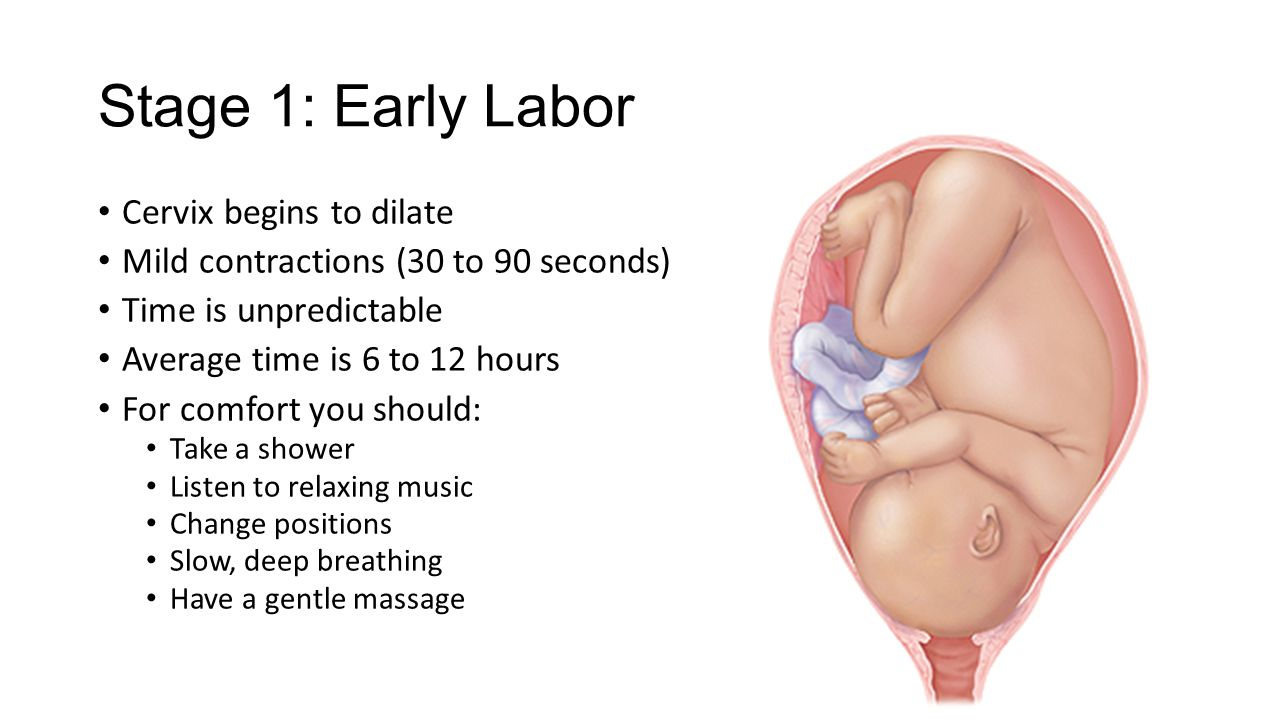 early labor