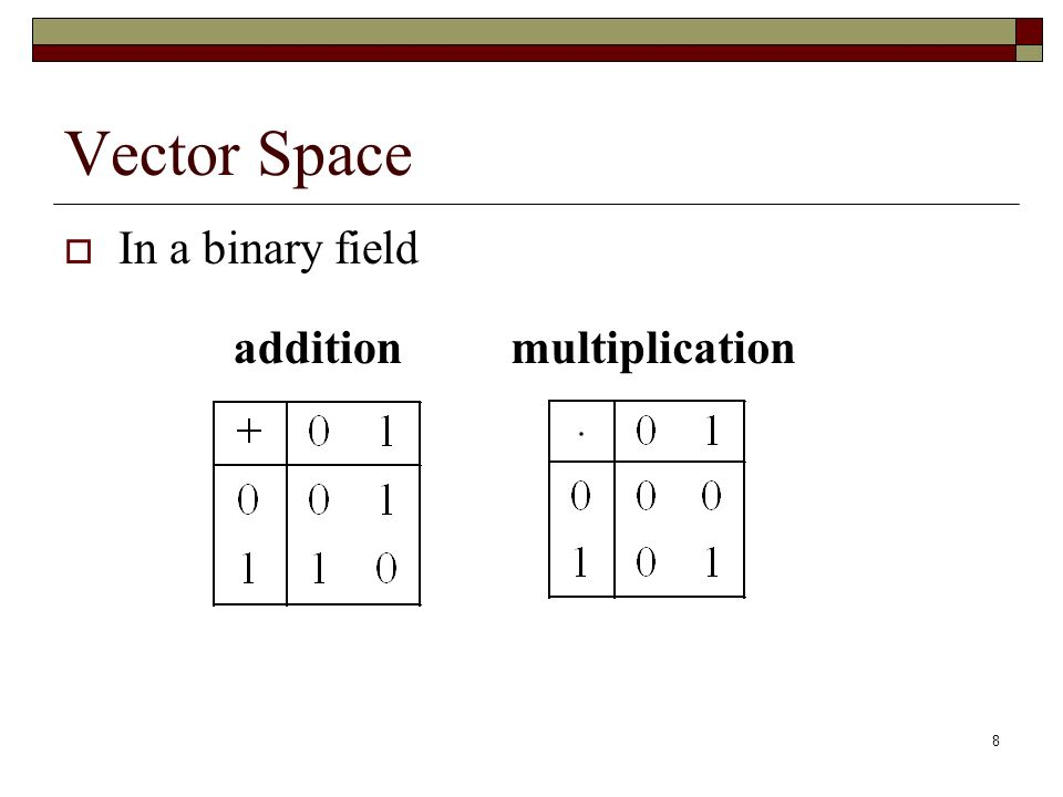 vector space and subspace