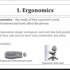 Ergonomic Chair Posture Swivel Visitors Objective 1.01: Implement Proper Keyboarding Techniques - Ppt Video Online Download