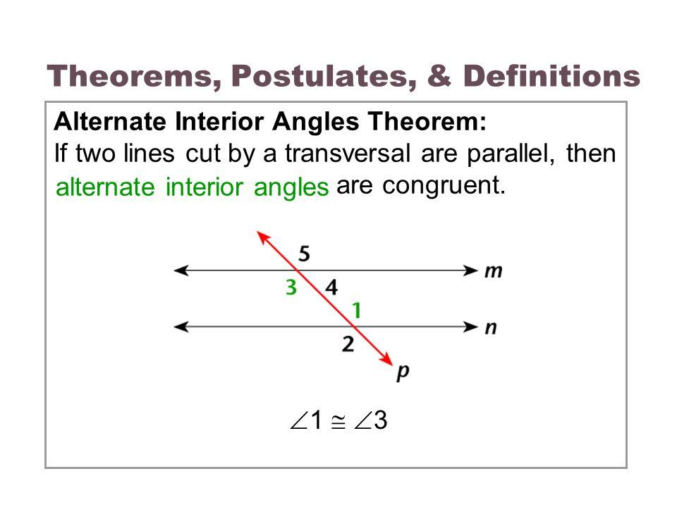 33 Parallel Lines  Transversals  ppt video online download