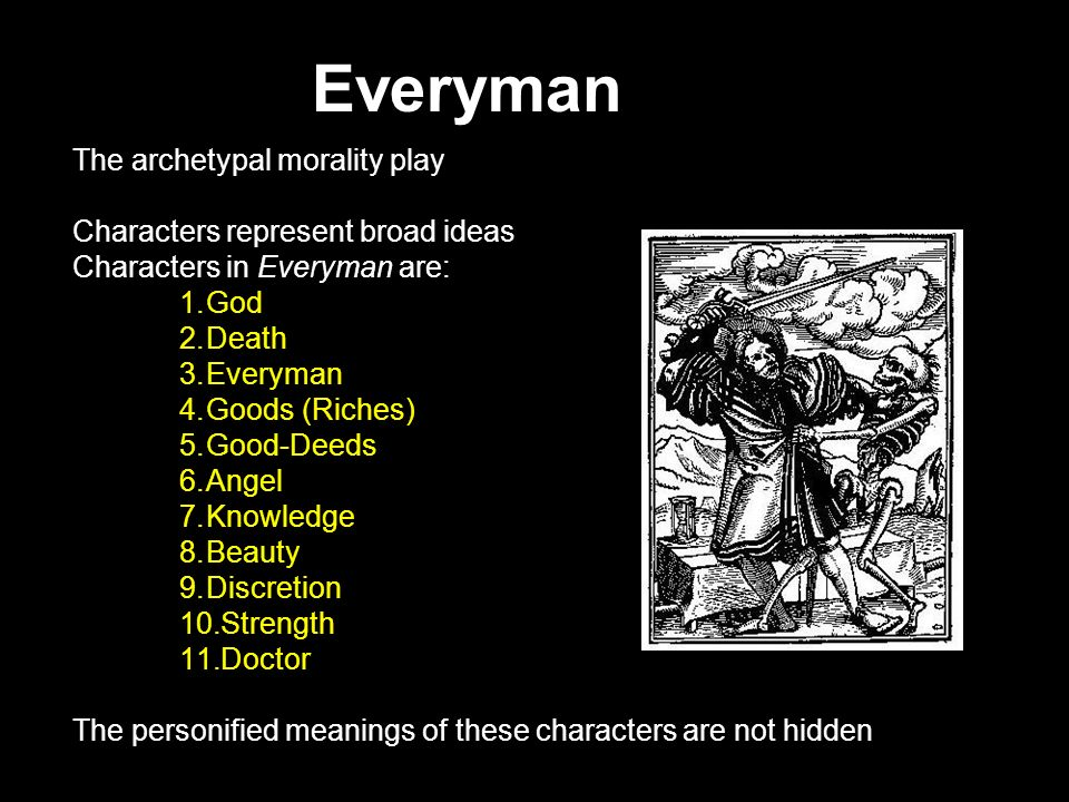 MORALITY PLAYS Ppt Download
