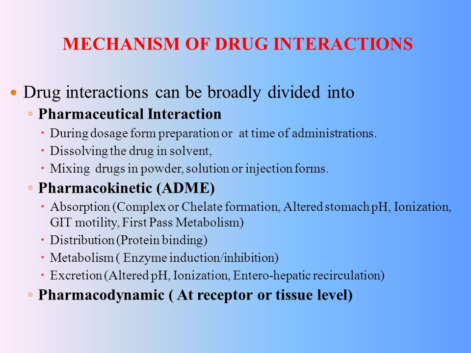 DRUG INTERACTIONS Prof R K DIXIT Dept Of Pharmacology