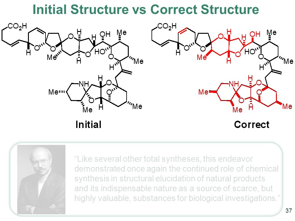 Structural Elucidation and Total Synthesis  ppt download