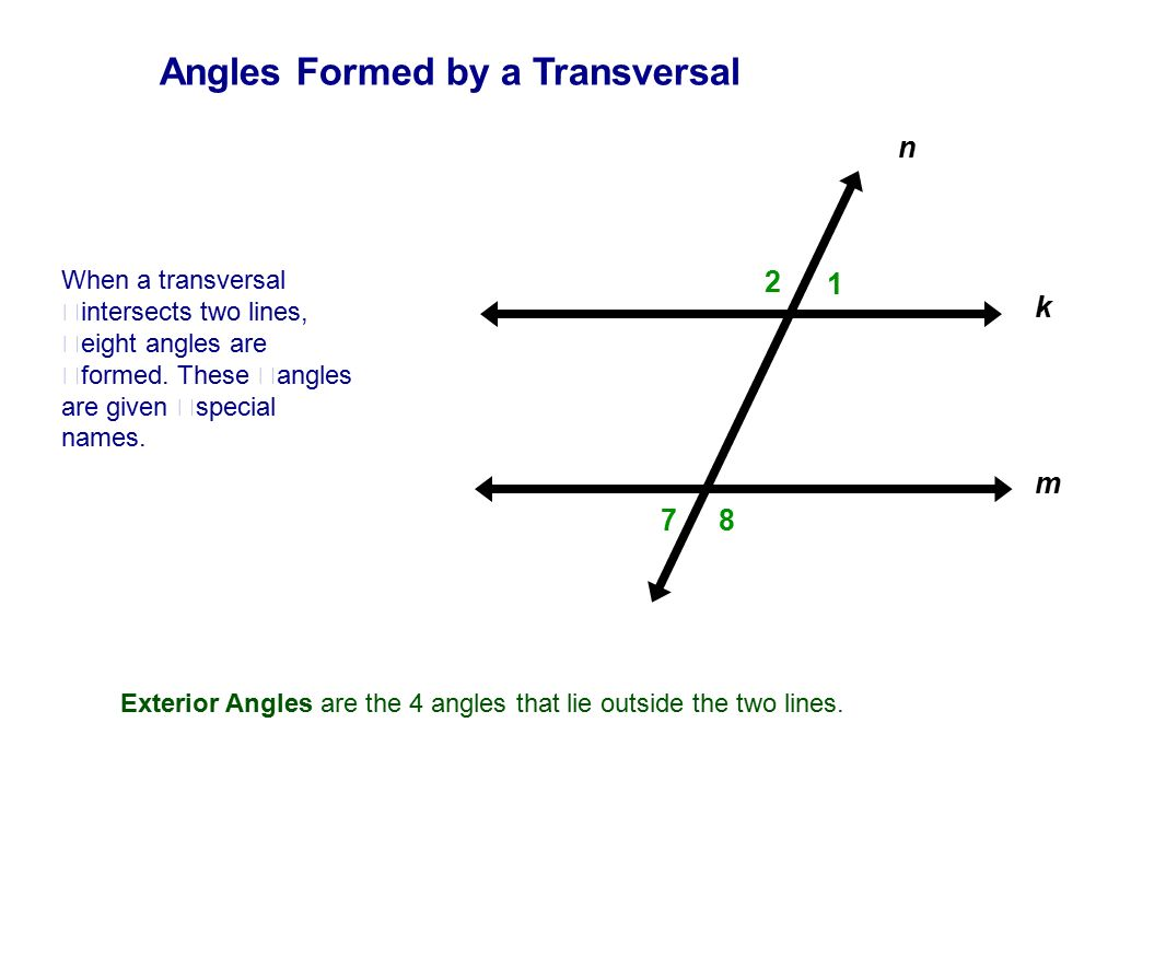 Table Of Contents Lines Intersecting, Parallel & Skew  Ppt Download