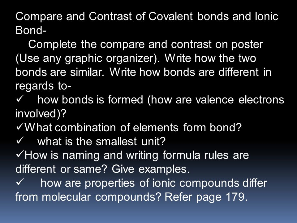 Chemical Bond Is A Mutual Electrical Attraction Between