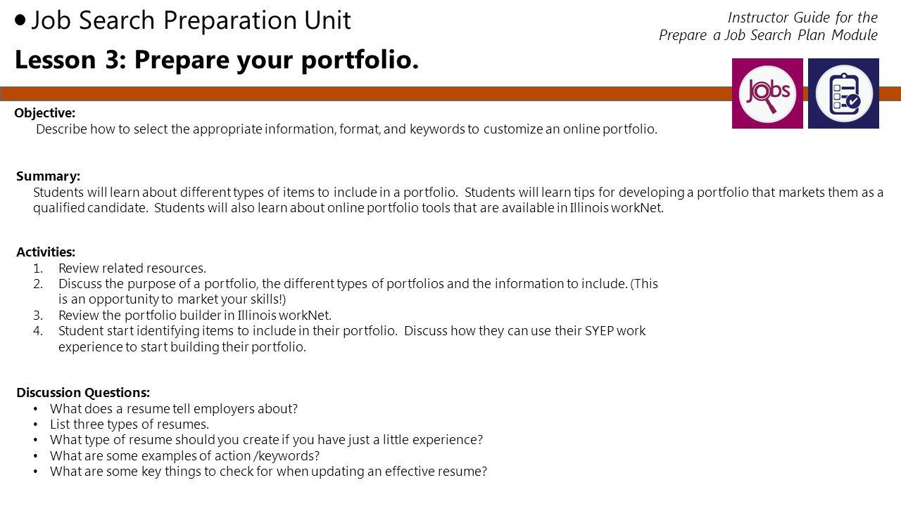 resume preparation tips ppt