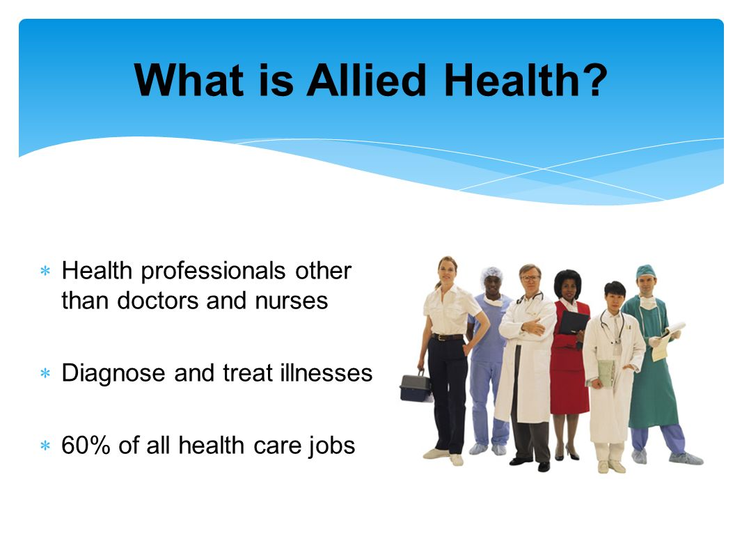 Image result for allied health