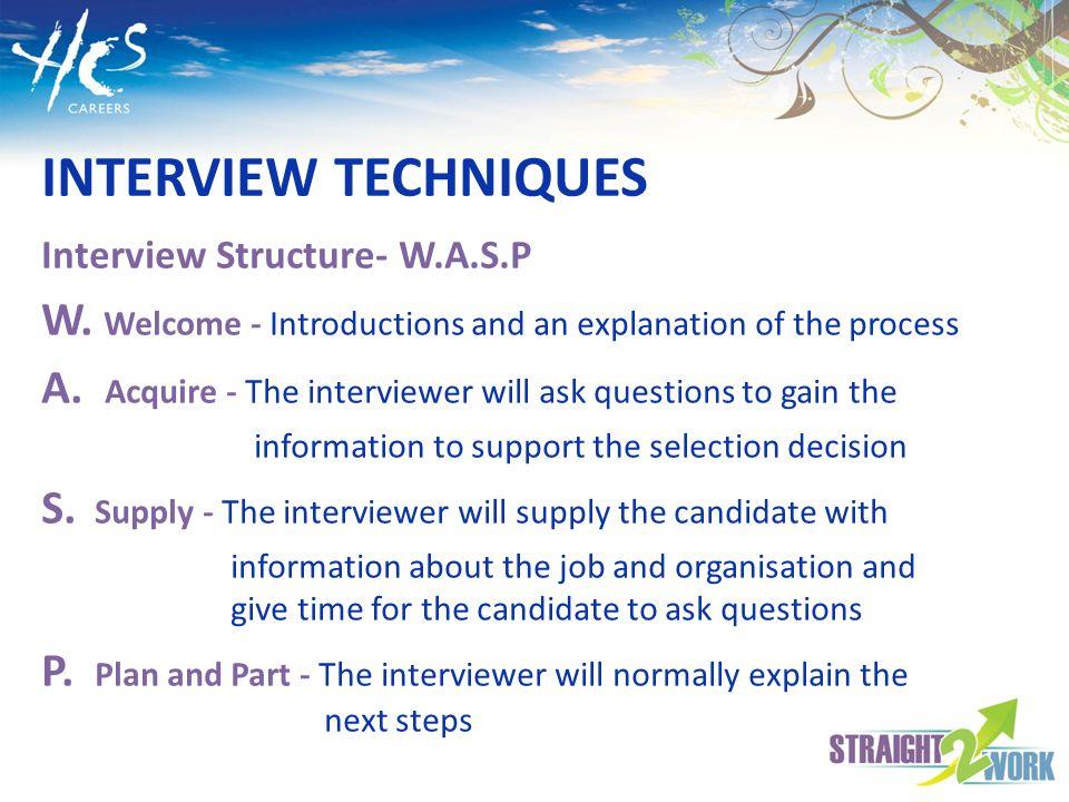 LESSONS 11 & 12 INTERVIEW TECHNIQUES Ppt Download