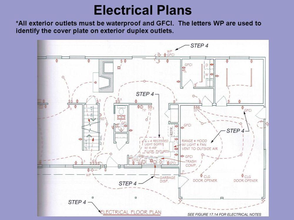 medium resolution of electrical plans ppt video online download wiring a gfi and light switch wiring a gfci
