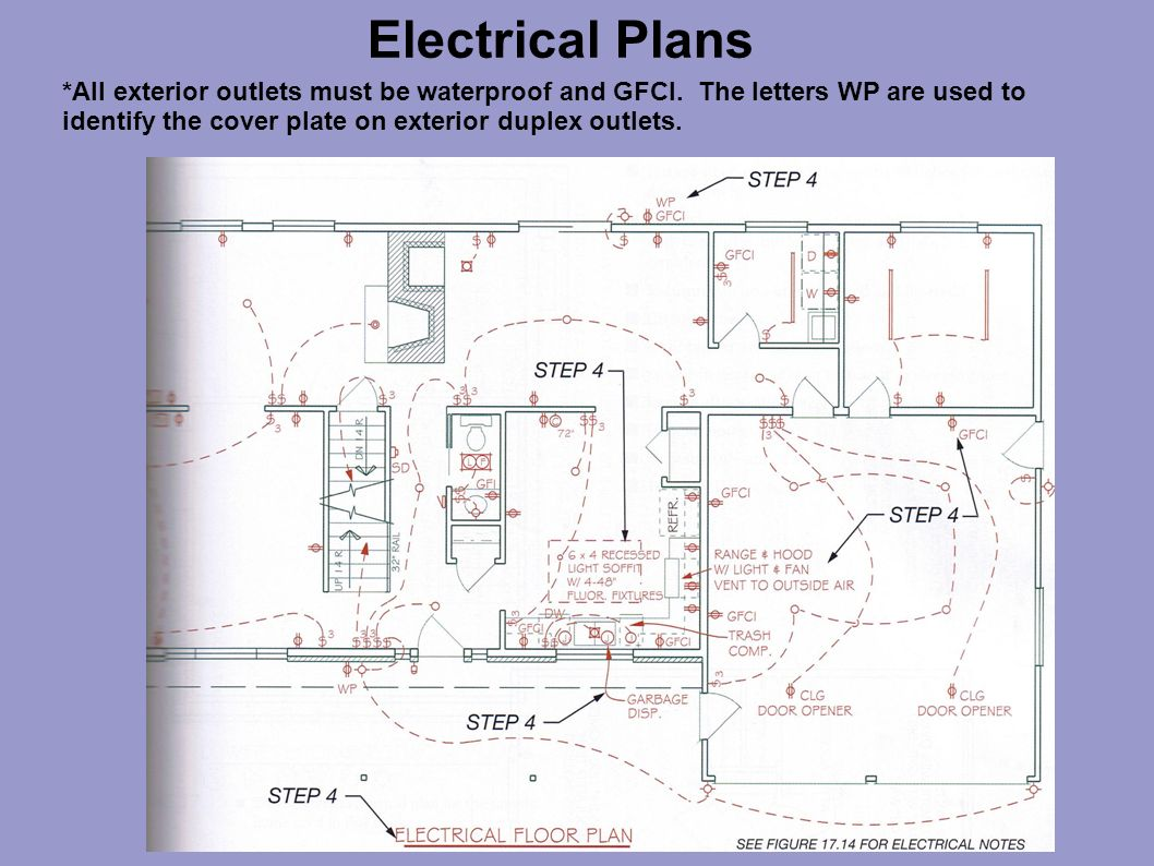hight resolution of electrical plans ppt video online download wiring a gfi and light switch wiring a gfci