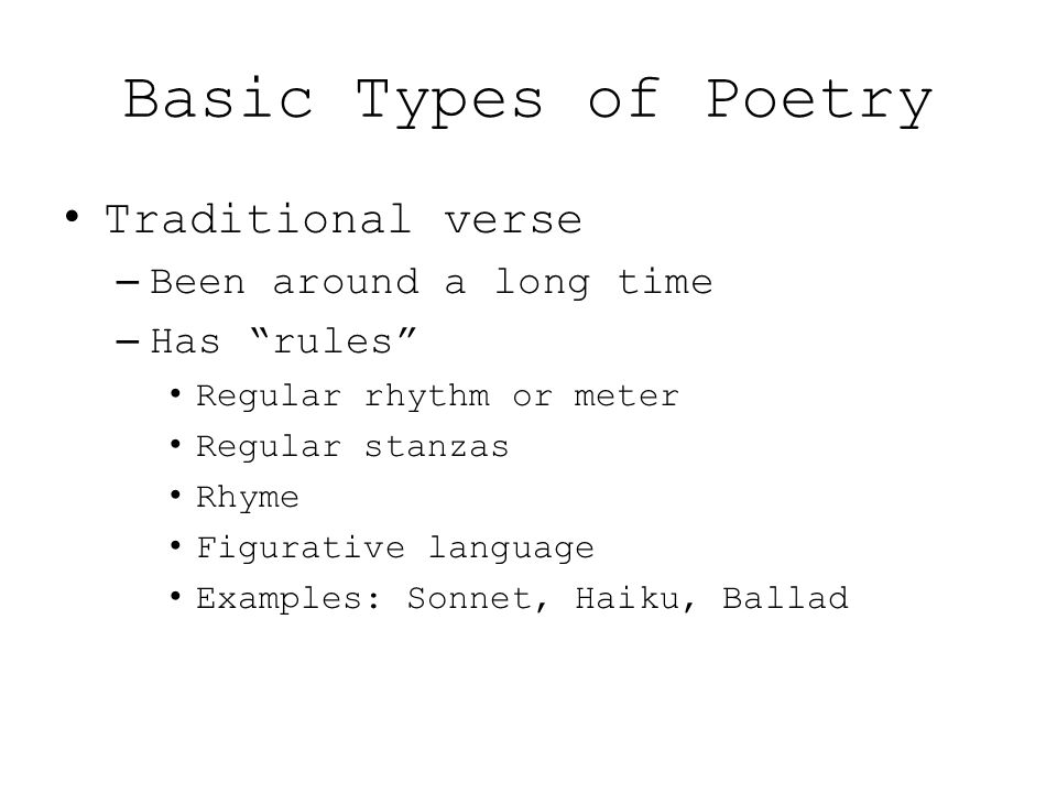 A Guide To Understanding Poetry Basics Ppt Video Online