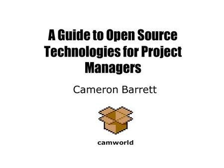 Two Case Studies of Open Source Software Development