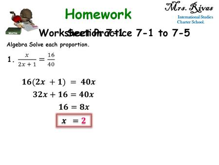 Practice 7 1 Ratios And Proportions Worksheet Answers
