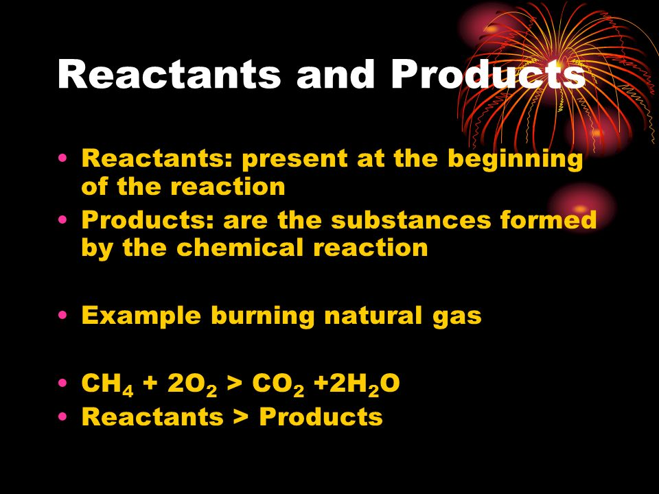 Chemical Reactions Fireworks Are A Result Of Chemical