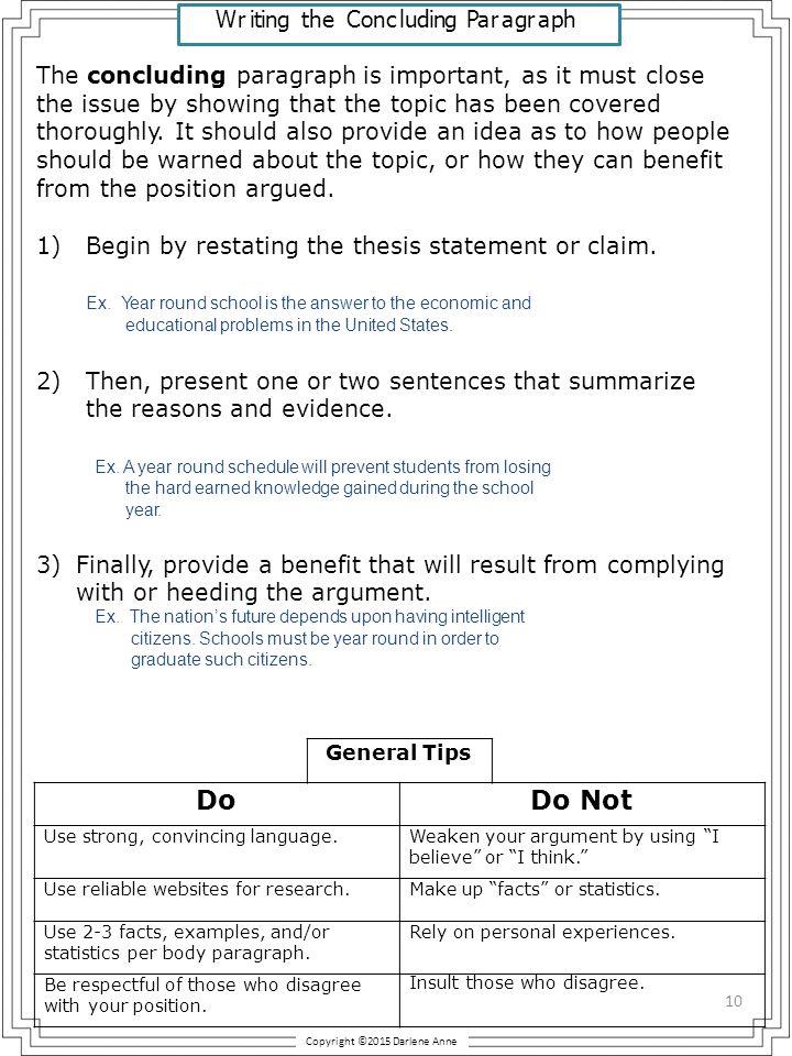 Argumentative Essay Terminology  ppt download