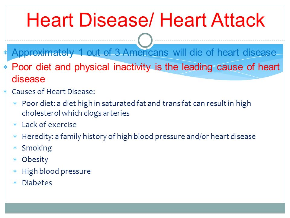 What Foods Can Cause Heart Disease