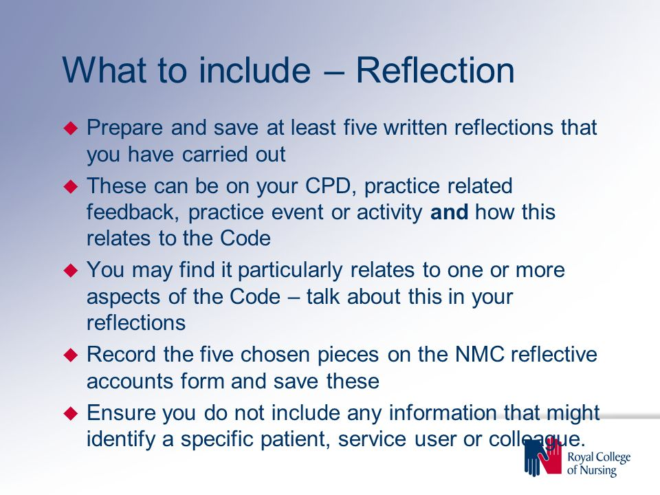 Building and keeping a revalidation portfolio  ppt download