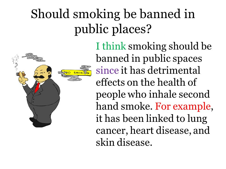 smoking should be banned essay