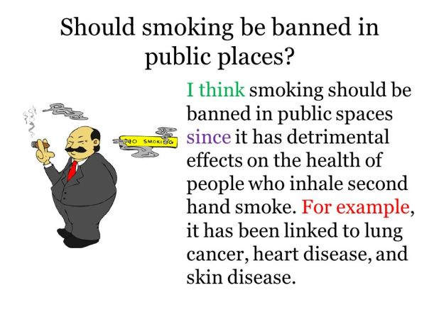 Argumentative Essay On Smoking Should Be Banned | Mistyhamel