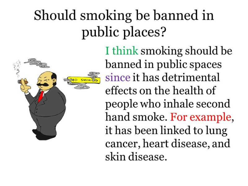 Banning Smoking In Public Places Persuasive Essay | Mistyhamel