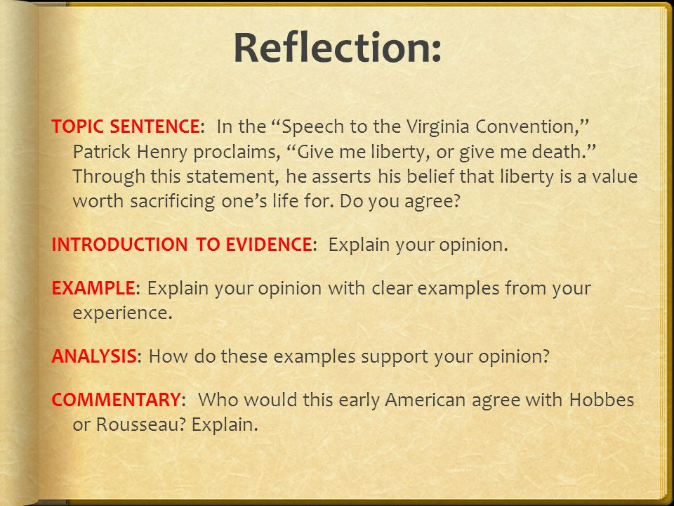 Speech To The Virginia Convention Ppt Video Online Download