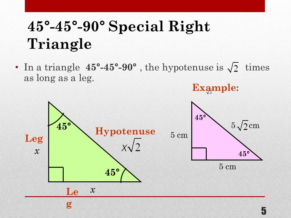 3 60 And 5 Angle Cm Length Triangle Degree