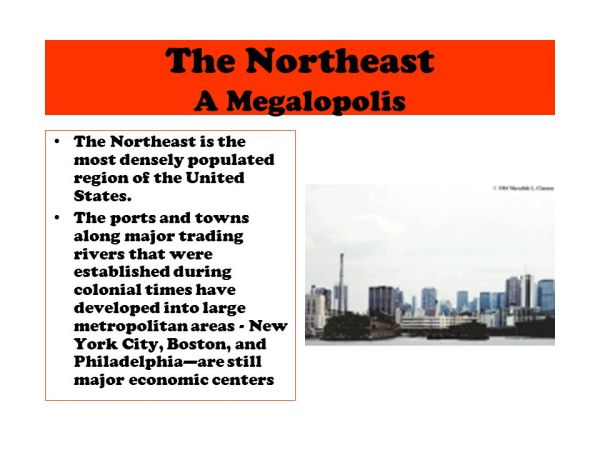 The Northeast The South The Mid West The West ppt download