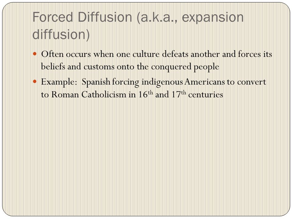 Culture Hearths And Diffusion AP Human Geog Mr Huston